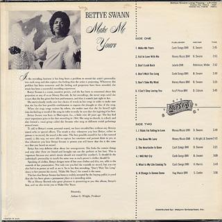 Bettye Swann / Make Me Yours back