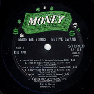 Bettye Swann / Make Me Yours label