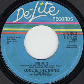 Kool & The Gang / Big Fun c/w No Show