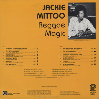 Jackie Mittoo / Reggae Magic back