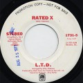L.T.D. / Rated X c/w (Mono)