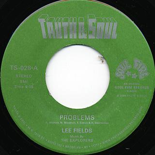 Lee Fields / Problems