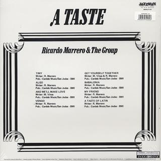 Ricardo Marrero & The Group / A Taste back