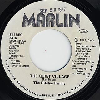 Ritchie Family / The Quiet Village