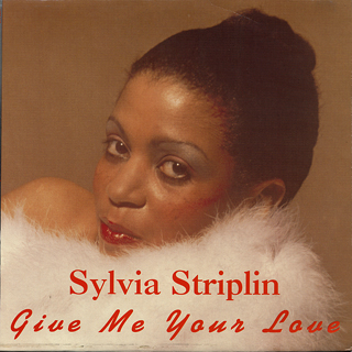 Sylvia Striplin Give Me Your Love Lp Uno Melodic 中古