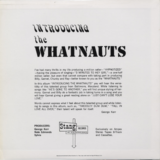 Whatnauts / Introducing The Whatnauts back