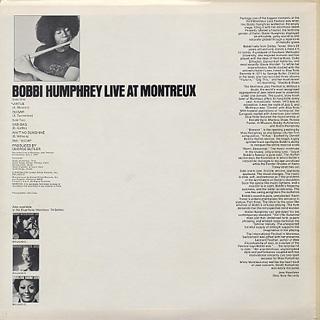 Bobby Humphrey / Live At Montreux back