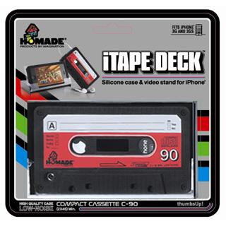 iTAPE DECK [The Coolest iPhone Retro Cassette Case]
