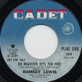 Ramsey Lewis / Do Whatever Sets You Free c/w Close Your Eyes And