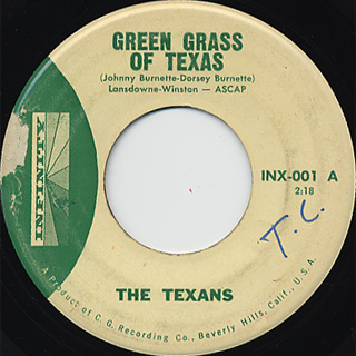 Texans / Green Grass Of Texas c/w Bloody River