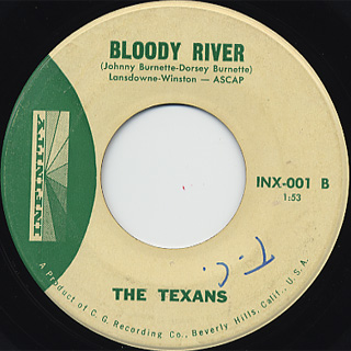 Texans / Green Grass Of Texas c/w Bloody River back