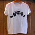 Alston Logo T-Shirts White x Black S