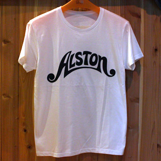 Alston Logo T-Shirts White x Black S