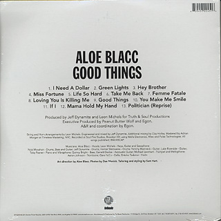 Aloe Blacc / Good Thing back