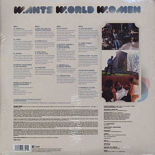 Dwele / Wants World Women back
