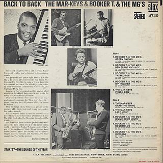 Mar-Keys & Booker T. & MG's / Back To Back back