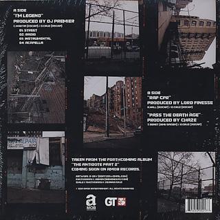 Smiley The Ghetto Child / I'm Leggend c/w Rap Cpr back