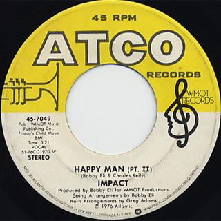 Impact / Happy Man(Part I) c/w (Part II)