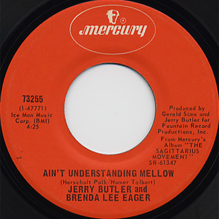 Jerry Butler And Brenda Lee Eager / Windy City Soul c/w Ain't Understanding~ back