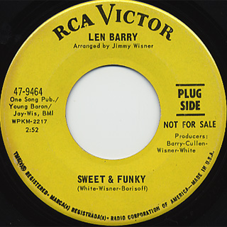 Len Barry / Sweet & Funky c/w I Like The Way