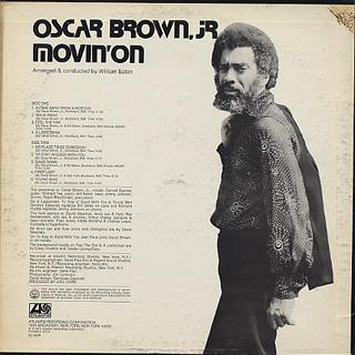 Oscar Brown,Jr. / Movin' On back
