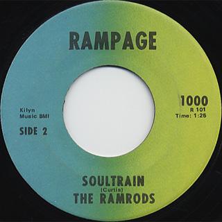 Ramrods / Soultrain back
