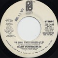 Teddy Pendergrass / The Whole Town's Laughing At Me(Stereo) c/w (Mono)