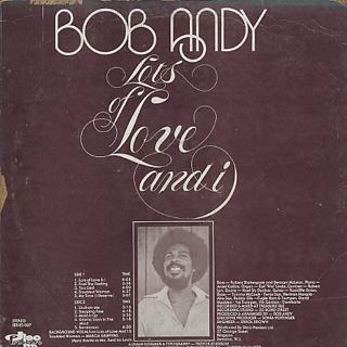 Bob Andy / Lots Of Love & I back
