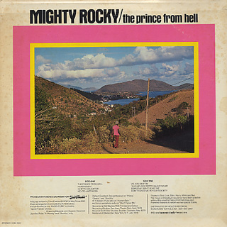 Mighty Rocky / The Prince From Hell back