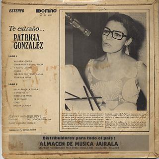 Patricia Gonzalez / Te Extrano... back