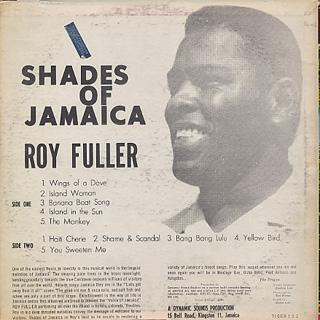 Roy Fuller / Shades Of Jamaica back