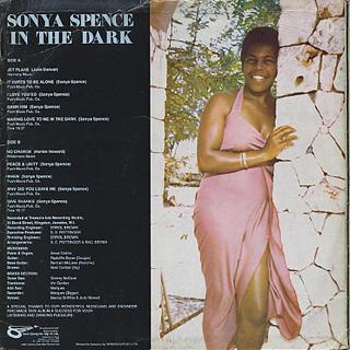 Sonya Spence / In The Dark back