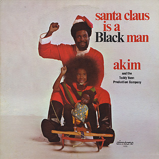 Akim And The Teddy Vann / Santa Claus Is A Black Man front
