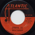 Aretha Franklin / Prove It c/w Chain Of Fools