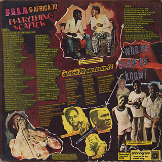 Fela & Africa '70 Organization / Everything Scatter back
