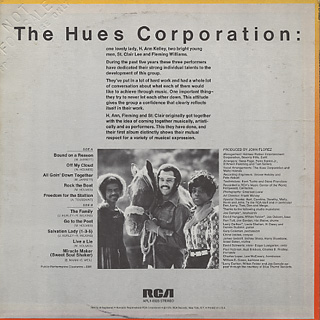 Hues Corporation / Freedom For The Stallion back