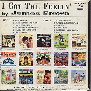 James Brown / I Got The Feelin' back