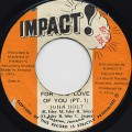 John Holt / For The love Of You (Pt.1) c/w You Walk Your Way (Pt.2)