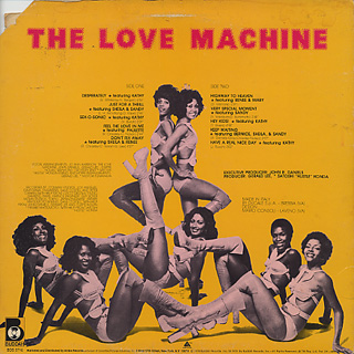 Love Machine / S.T. back