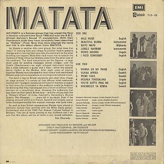 Matata / S.T. back
