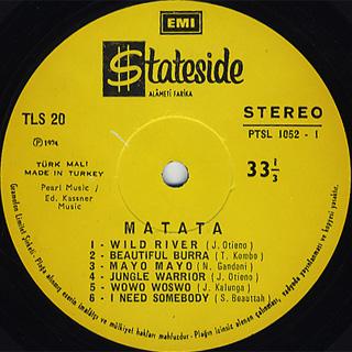 Matata / S.T. label