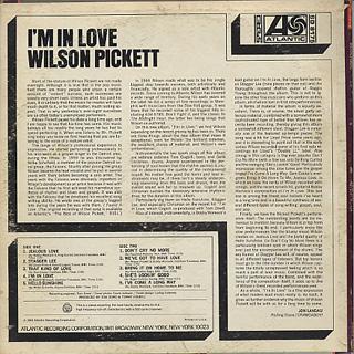 Wilson Pickett / I'm In Love back