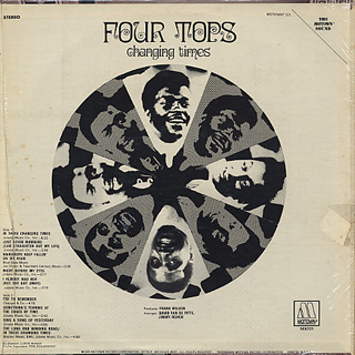 Four Tops / Changing Time back