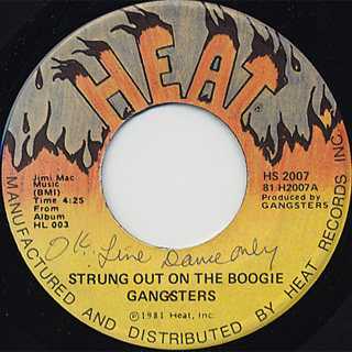 Gangsters / Strung Out On The Boogie c/w Shake Your Body