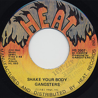 Gangsters / Strung Out On The Boogie c/w Shake Your Body back