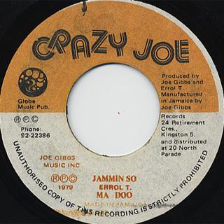 Madoo / Jammin So c/w Joe Gibbs / Feeling Hot