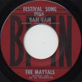 Maytals / Bam Bam c/w So Mad In Love