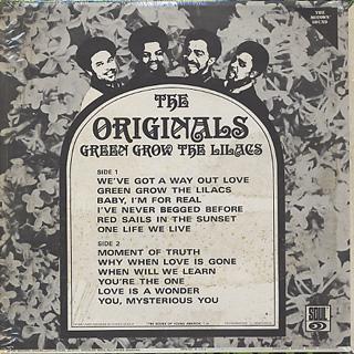Originals / Baby, I'm For Real back