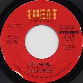 Peppers / Hot Caramel (Stereo) c/w Hot Caramel (Mono)