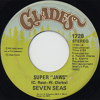 Seven Seas / Super Jaws c/w Pat's Jam